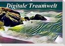 Digitale Traumwelt (Wandkalender 2021 DIN A2 quer)