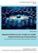 Adoptionsfaktoren der Cradle-to-Cradle-Implementierung in Deutschland