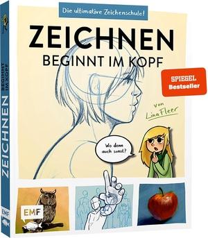 Fleer, Lina. Zeichnen beginnt im Kopf - Die ultimative Zeichenschule von YouTube-Zeichnerin LinaFleer. Edition Michael Fischer, 2021.