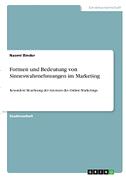 Formen und Bedeutung von Sinneswahrnehmungen im Marketing