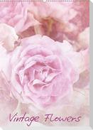 Vintage Flowers (Wandkalender 2021 DIN A2 hoch)