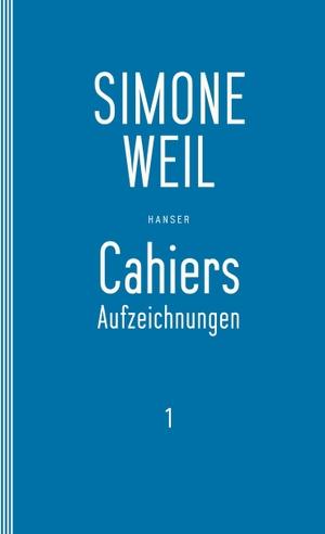 Simone Weil / Elisabeth Edl / Wolfgang Matz / Elis