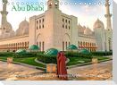 Abu Dhabi - Glanzvolle Hauptstadt der Vereinigten Arabischen Emirate (Tischkalender 2022 DIN A5 quer)
