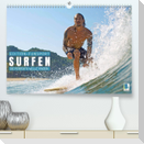 Wellenreiten: Die perfekte Welle finden - Edition Funsport (Premium, hochwertiger DIN A2 Wandkalender 2022, Kunstdruck in Hochglanz)