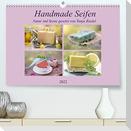 Handmade Seifen - Natur in Szene gesetztCH-Version  (Premium, hochwertiger DIN A2 Wandkalender 2022, Kunstdruck in Hochglanz)