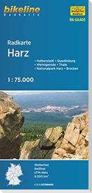 Radkarte Harz 1:75.000 (RK-SAA05)