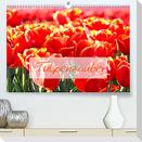 Tulpenzauber (Premium, hochwertiger DIN A2 Wandkalender 2022, Kunstdruck in Hochglanz)