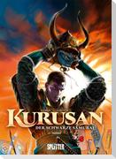 Kurusan - der schwarze Samurai. Band 1