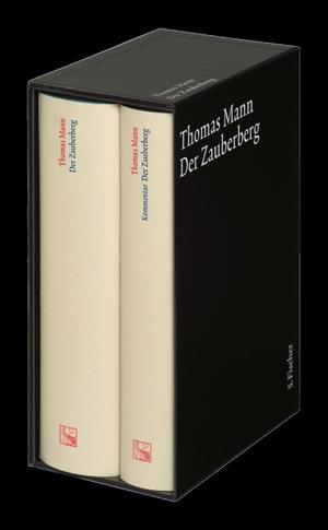 Thomas Mann / Michael Neumann. Der Zauberberg - Text und Kommentar in einer Kassette. S. FISCHER, 2002.