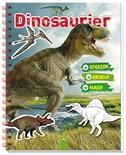 Dinosaurier Stickern Rätseln Malen