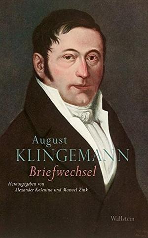 August Klingemann / Alexander Košenina / Manuel Zink. Briefwechsel. Wallstein, 2018.