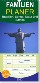 Brasilien. Sonne, Natur und Samba (Wandkalender 2022 , 21 cm x 45 cm, hoch)