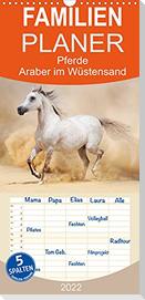 Pferde . Araber im Wüstensand (Wandkalender 2022 , 21 cm x 45 cm, hoch)
