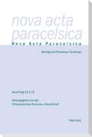 Nova Acta Paracelsica