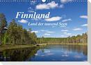 Finnland - Land der tausend Seen (Wandkalender 2021 DIN A3 quer)