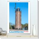 Leuchttürme - Licht ins Dunkel (Premium, hochwertiger DIN A2 Wandkalender 2022, Kunstdruck in Hochglanz)