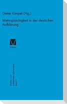 Mehrsprachigkeit in der deutschen Aufklärung