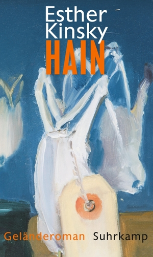 Esther Kinsky. Hain - Geländeroman. Suhrkamp, 2018.