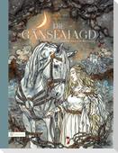 Die Gänsemagd und ihr treues Pferd Falada
