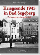 Kriegsende 1945 in Bad Segeberg