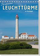 Die schönsten Leuchttürme in Portugal (Tischkalender 2022 DIN A5 hoch)