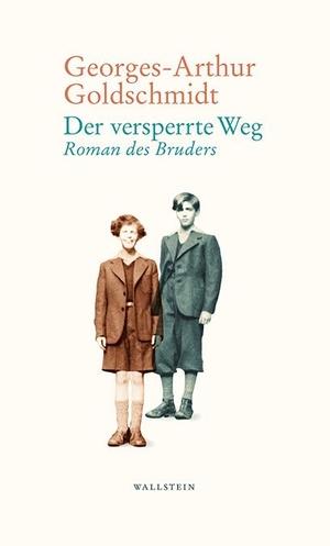 Goldschmidt, Georges-Arthur. Der versperrte Weg - Roman eines Bruders. Wallstein Verlag GmbH, 2021.