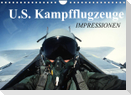 U.S. Kampfflugzeuge. Impressionen (Wandkalender 2022 DIN A4 quer)