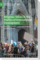 Religious Voices in the Politics of International Development