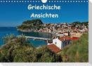 Griechische Ansichten (Wandkalender immerwährend DIN A4 quer)