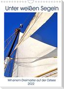 Segel-Nostalgie pur - Mit einem Dreimaster auf der Ostsee (Wandkalender 2022 DIN A4 hoch)