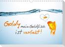 Goldy mein Goldfisch ist verliebt! (Wandkalender 2021 DIN A4 quer)