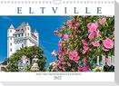 Eltville am Rhein - Wein, Sekt, Rosen (Wandkalender 2022 DIN A4 quer)