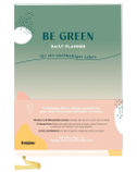 Be Green Daily Planner