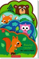 Mein Filz-Fühlbuch: Brumm! Wer wohnt im Wald?