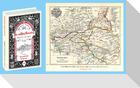 Bau- und Kunstdenkmäler des MANSFELDER SEEKREIS 1895. Buch und Karte