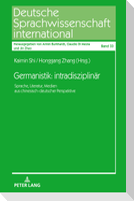 Germanistik: intradisziplinär.
