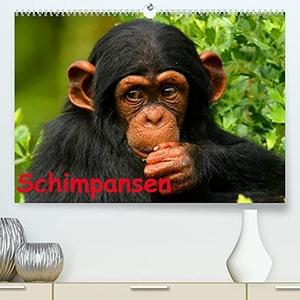 Stanzer, Elisabeth. Schimpansen (Premium, hochwertiger DIN A2 Wandkalender 2022, Kunstdruck in Hochglanz) - Des Menschen nächster Verwandter aus Mittelafrika (Monatskalender, 14 Seiten ). Calvendo, 2021.