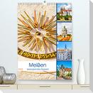 Meißen - bezauberndes Reiseziel (Premium, hochwertiger DIN A2 Wandkalender 2022, Kunstdruck in Hochglanz)