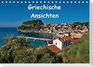 Griechische Ansichten (Tischkalender immerwährend DIN A5 quer)