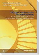 30 Jahre ostdeutsche Transformation