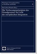 Verfassungsprinzipien des Grundgesetzes im Licht der europäischen Integration