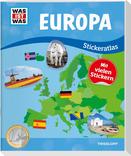 WAS IST WAS Stickeratlas Europa