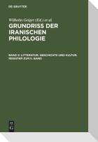 Litteratur, Geschichte und Kultur, Register zum II. Band