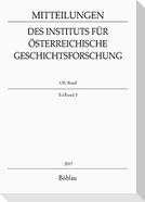 Mitteilungen des Instituts für Österreichische Geschichtsforschung. 125. Band, Teilband 1 (2017)