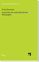 Geschichte der mittelalterlichen Philosophie im christlichen Abendland