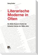 Literarische Moderne in Olten