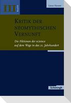 Kritik der neomythischen Vernunft Band 3