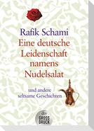 Eine deutsche Leidenschaft namens Nudelsalat. Großdruck