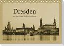 Dresden - Ein Kalender im Zeitungsstil (Tischkalender 2021 DIN A5 quer)