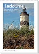 Leuchttürme - Impressionen der stillen Wachposten am Ufer (Wandkalender 2022 DIN A2 hoch)